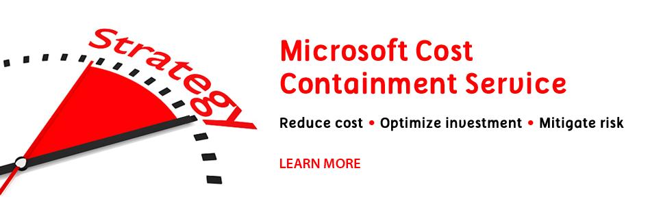 microsoft cost containment slide3